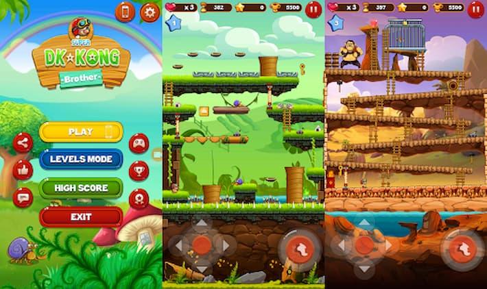 スーパーDK対Kongブラザーアドバンスドフリー アプリ紹介画像