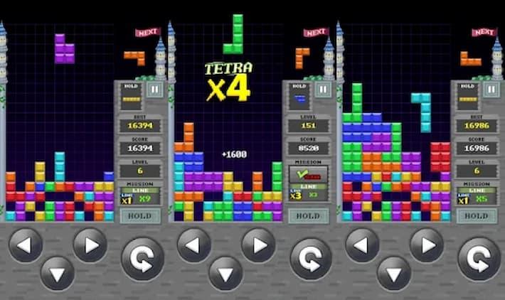 レトロパズルキング2 プレイ中の写真