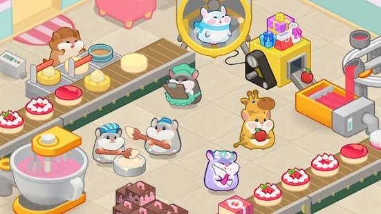 ハムスターのゲーム ~ケーキ作りタイクーン アプリ紹介画像