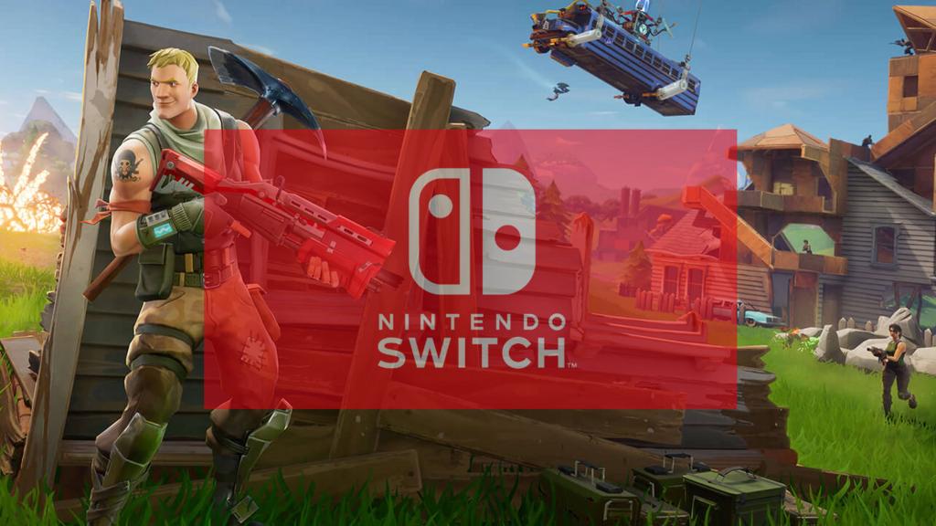 switch版フォートナイト