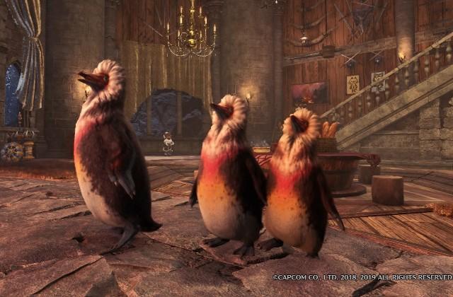 ブクレ 捕獲 の キ ペンギン