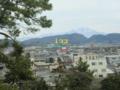 松江城から