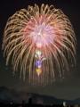 『京都新聞写真コンテスト  夜空に浮かぶ大輪』