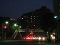 仙台の夜道から眺めた既朔(二日月)