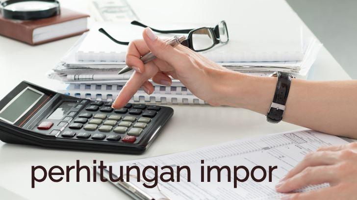 perhitungan impor