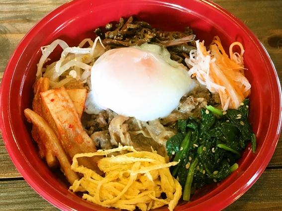 焼肉韓国料理 白虎児(ペットラジ)のテイクアウトメニュー「ピビンバ」の写真
