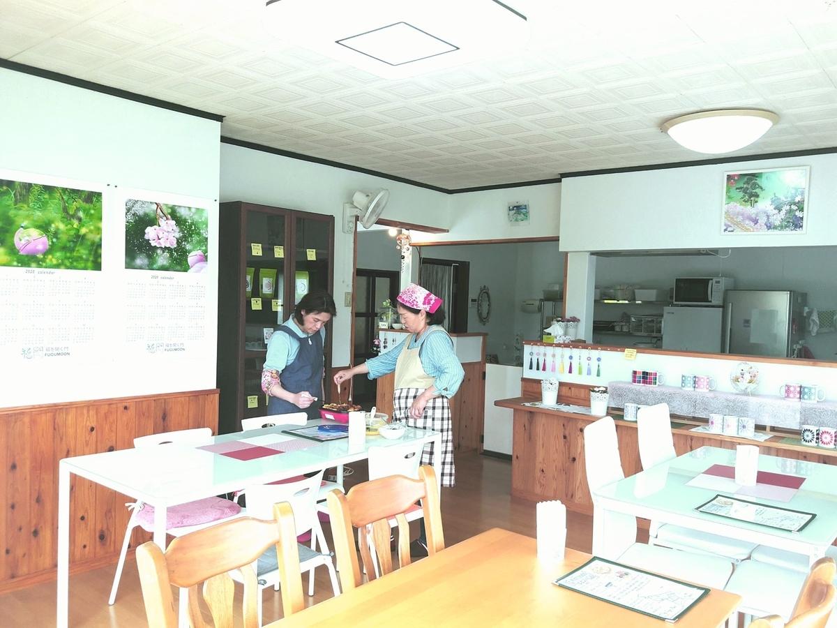 FuguMoonビビンパcafeの店内写真