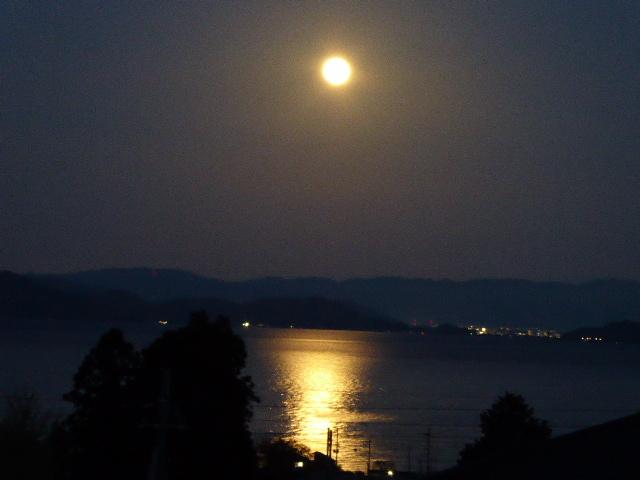 京都新聞写真コンテスト 蓬莱朧月夜