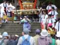 京都新聞写真コンテスト 僕が主役 海津力士祭