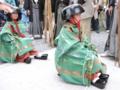 京都新聞写真コンテスト 履物履き替えてあと少し