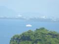 京都新聞写真コンテスト 沖行く船