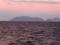 朝焼けの沖島