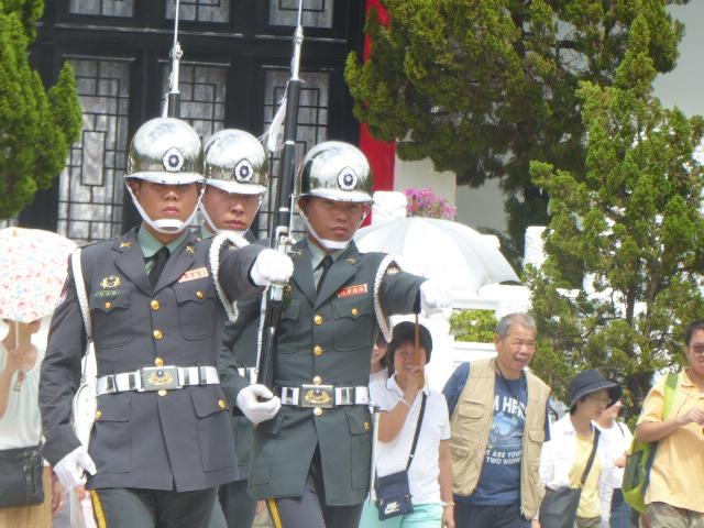 衛兵の交代