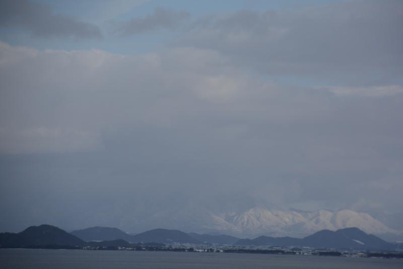 阿星山、信楽方面遠望