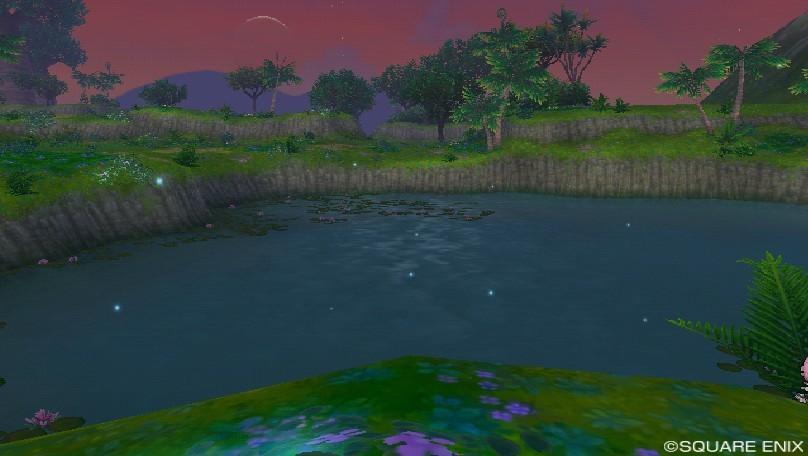 マナ撮影蛍の池