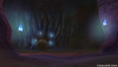 ベコン渓谷の妖剣士の塚入り口