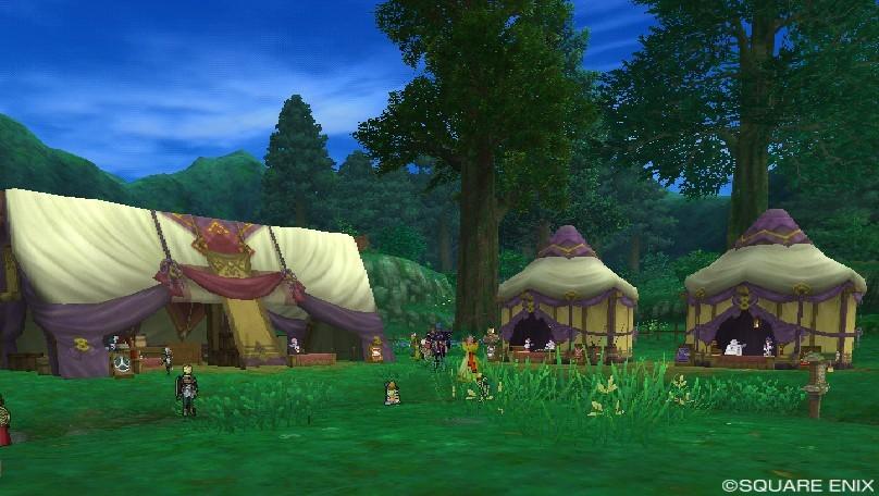木かげの集落