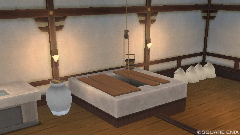 厨房の井戸