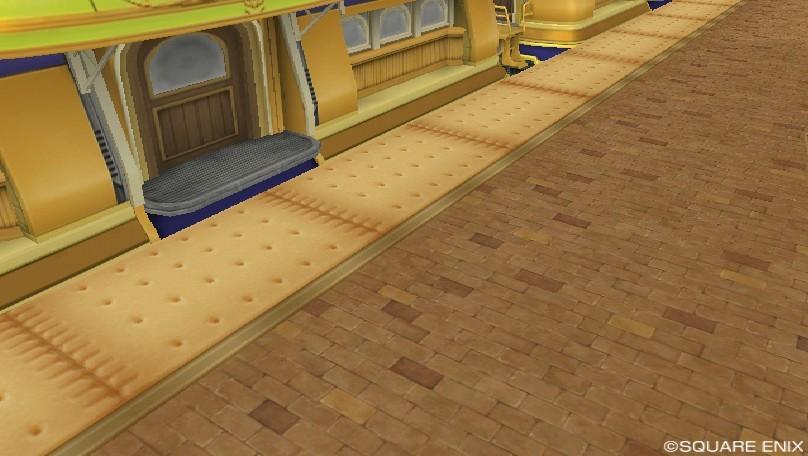 オルフェア駅の床