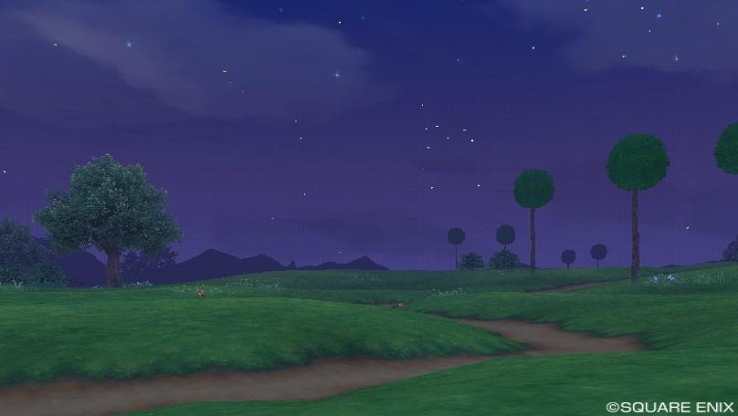 オルフェア地方東・夜