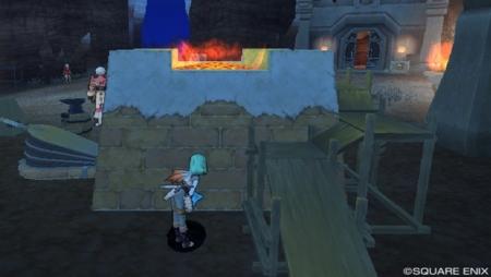 グレン城下町の鍛冶設備で調べ物
