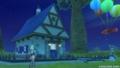 グレン住宅村にあった、ウェディ系の家