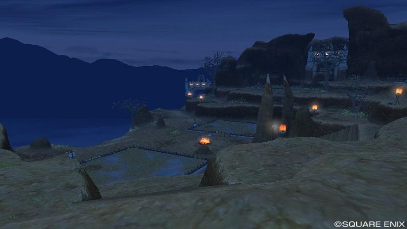グレン住宅村のとある雲上地区