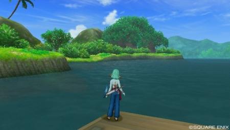 レーナム緑野から見える島
