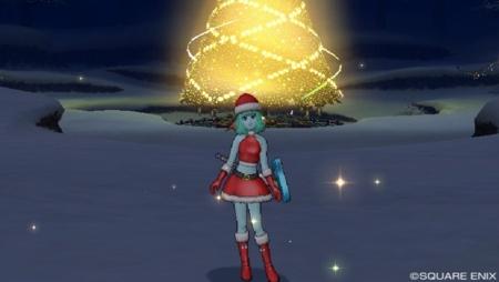 クリスマスイベント_星の大樹広場にて