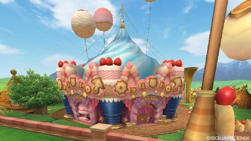 オルフェアの町のサーカステント
