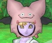 竹ヤリ+ピンクモーモンのマナ顔だけ