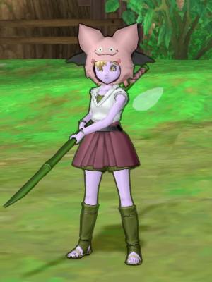 竹ヤリ+ピンクモーモンのマナ