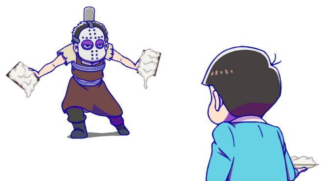 おそ松vs一松カラー版