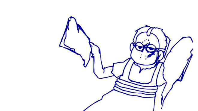 ジェイソン一松線画