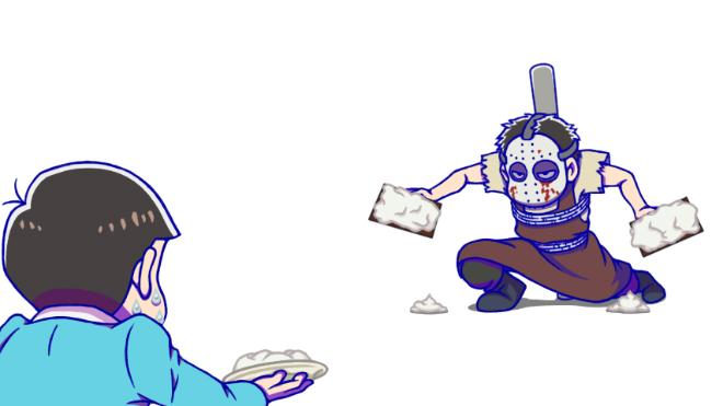 おそ松vs一松カラー版2