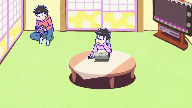 お知らせアニメ途中