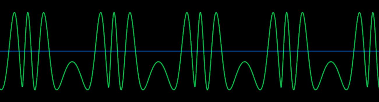 サイン波-FM80ノコギリ波_波形