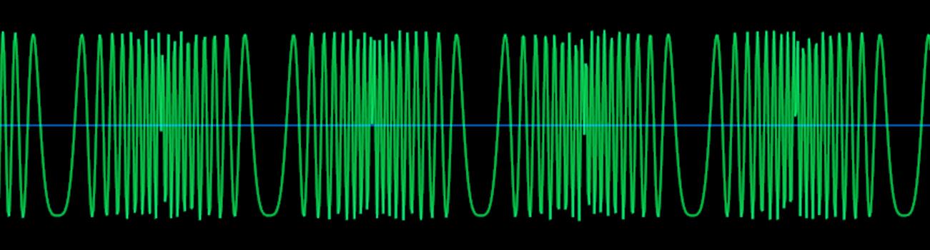 サイン波-FM112ノコギリ波_波形