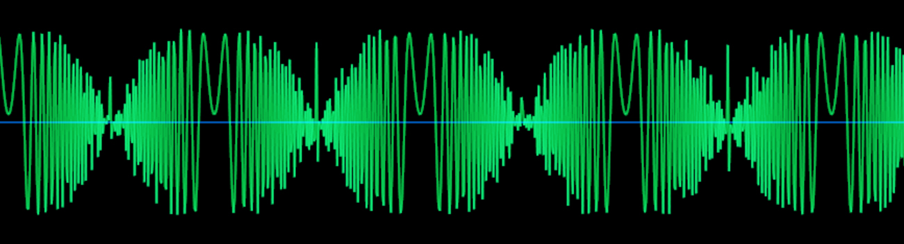 サイン波-FM127ノコギリ波_波形