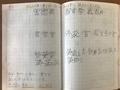 漢字の予習 結果