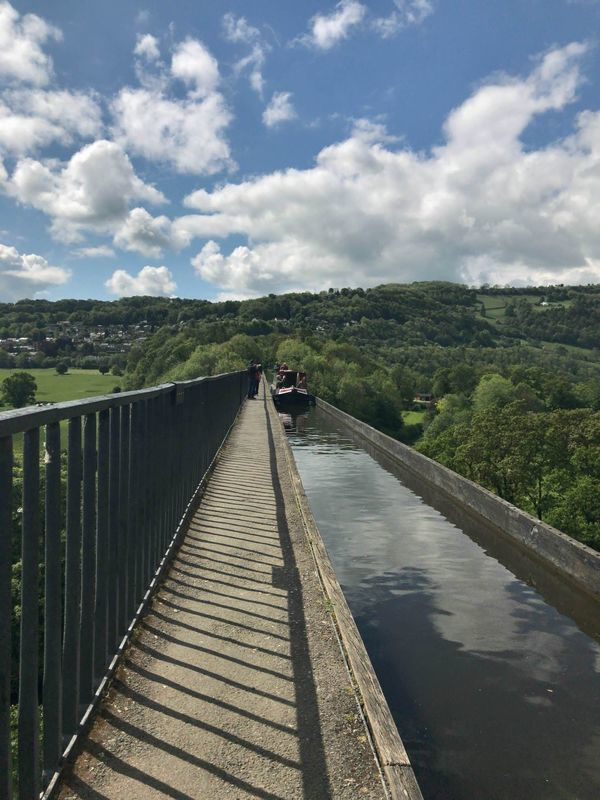 イギリスの世界遺産、ポントカサステ水路橋