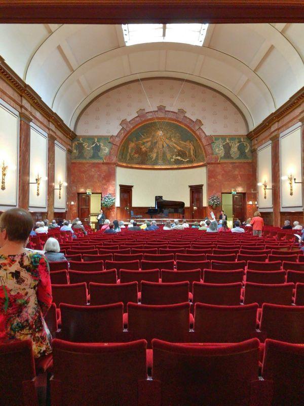 ロンドンのウィグモア・ホール