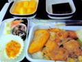 しょっぱい機内食がやけに美味しかった