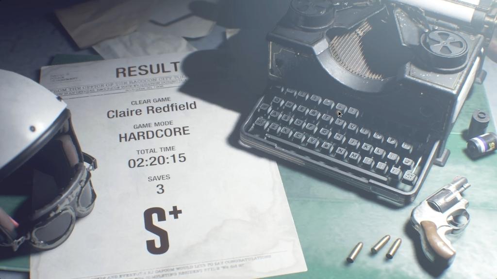バイオRE2、トロフィーコンプ/レコード完全制覇/S+クリア×2です♪【PC Steam版/DLC含む】006