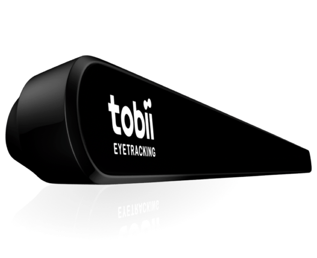 Tobii(トビー)社製 視線入力装置(アイトラッカー)『Tobii Eye Tracker 4C』