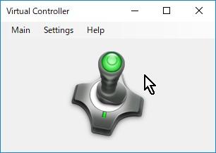 7-15.【Virtual Controller】有効中