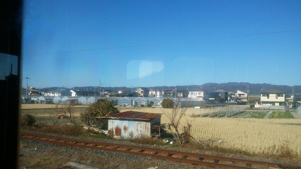 和歌山線の車窓から