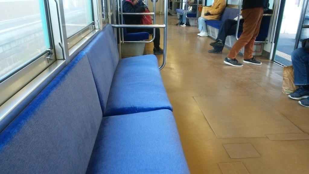 古き良き、座席