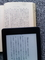 Kindleと文庫本の比較