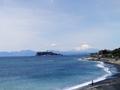 富士山と江の島@稲村ケ崎